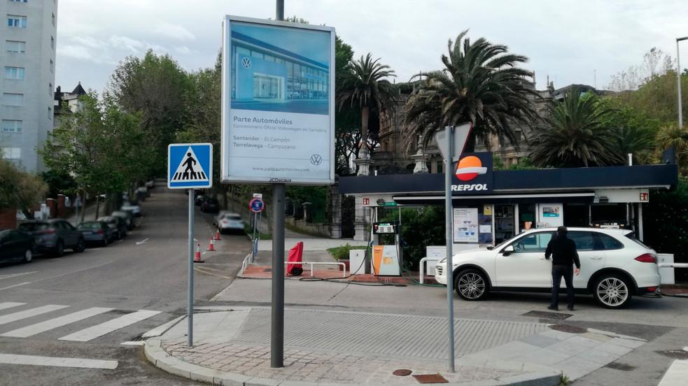 Parte Automóviles Plaza Italia