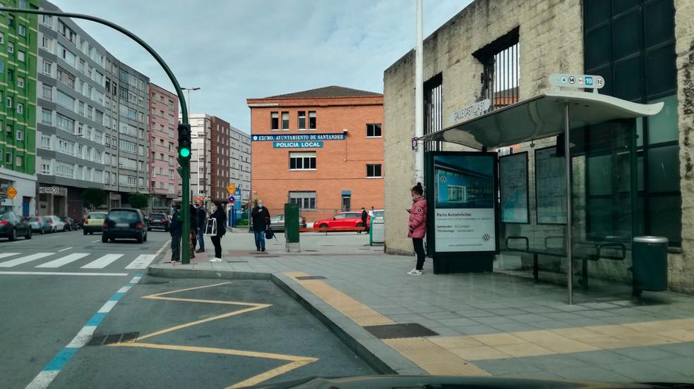 Parte Automóviles Calle Castilla