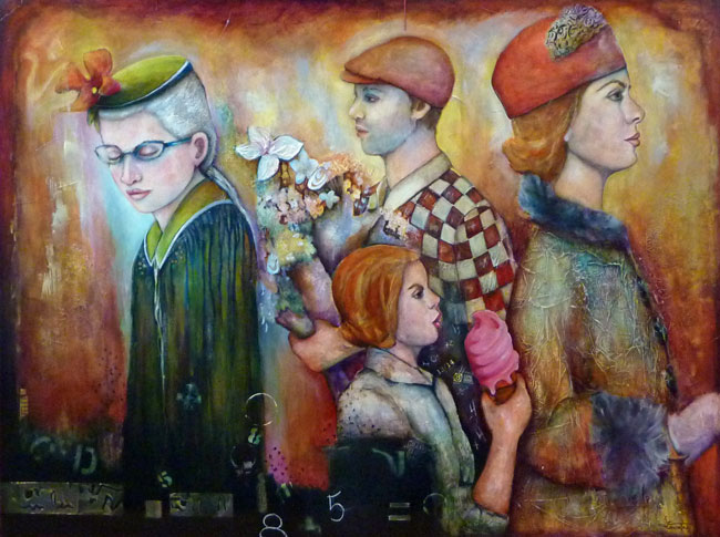 Jacqueline Gosselin artiste peintre