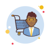 icons8-man-with-glasses-shopping-cart-10
