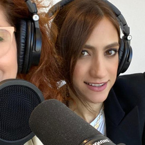 Debra Messing And Mandana Dayani Launched Their Podcast Series, The Dissenters, In Honor Of RBG