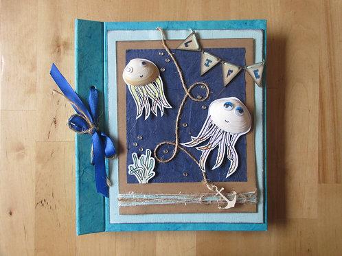 Sea Themed Scrapbook