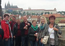 Ausfahrt nach Prag