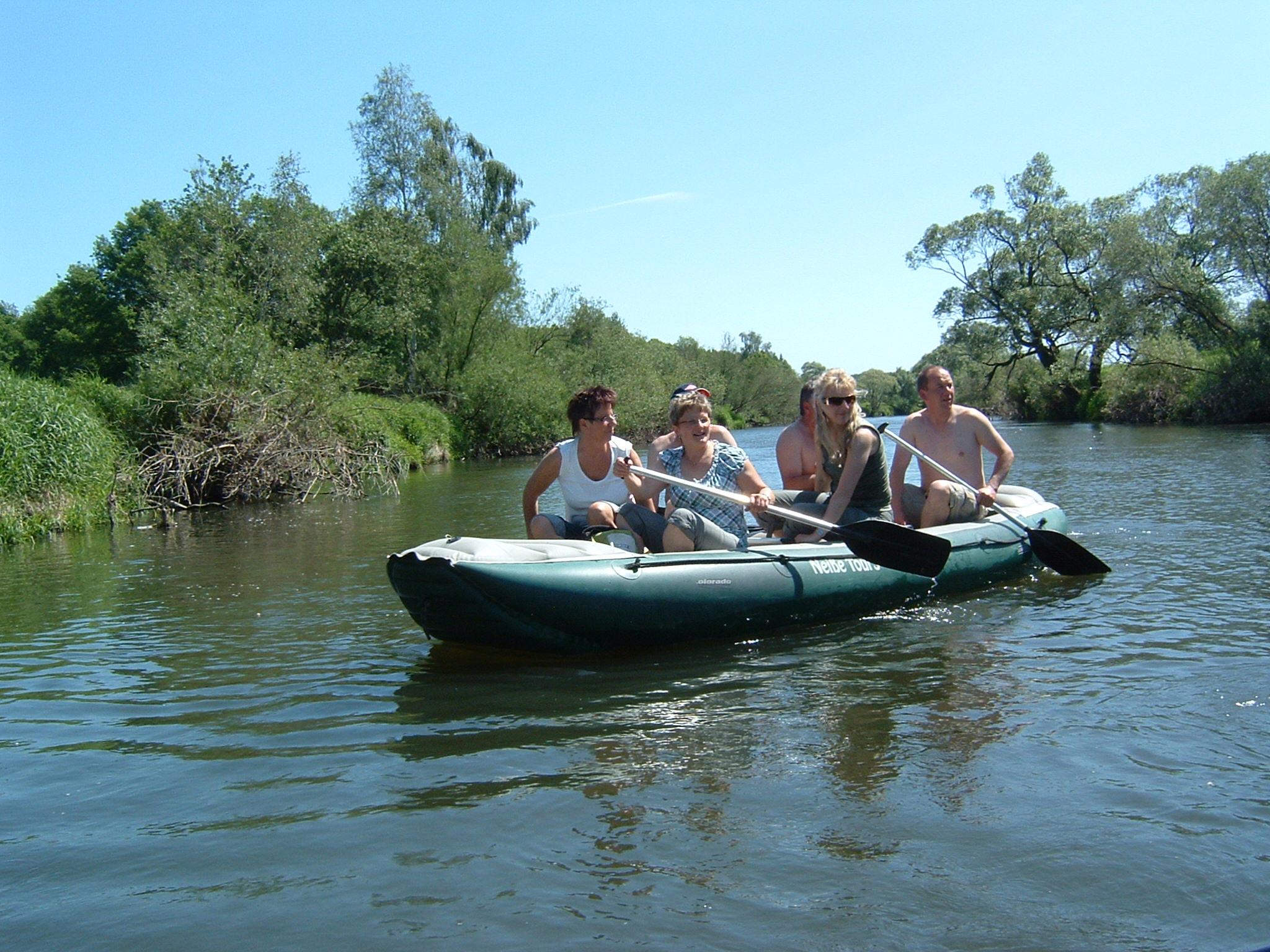 Bootstour auf der Neiße