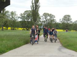 Radtour nach Ullersdorf