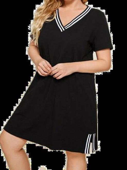 Tee Striped Dress