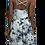 Thumbnail: B&W Dye Cami Cross Back Dress