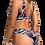 Thumbnail: Navy Peacock Bikini Swimsuit