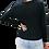Thumbnail: Black Lace Sleeved Tee