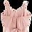Thumbnail: Rose Pearl Chiffon Cami Top