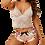 Thumbnail: Lace Cami Top w/Satin Shorts Set