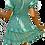 Thumbnail: Shirred Floral Print Dress