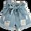 Thumbnail: Paper Bag Denim Shorts