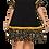 Thumbnail: Leopard Ruffle Sleeve Dress
