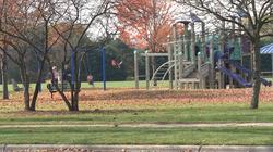 Kiwanis Park across the street