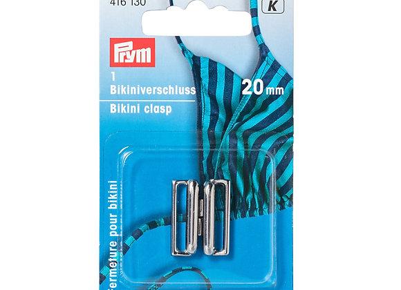 Κουμπώματα για Μαγιώ Prym 12mm Ασημί Μάτ
