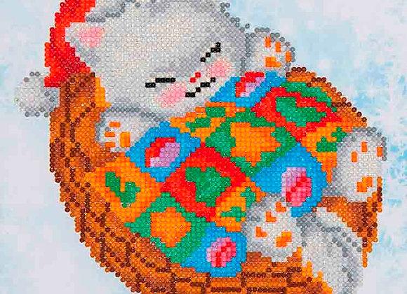 Snug Christmas Kitty