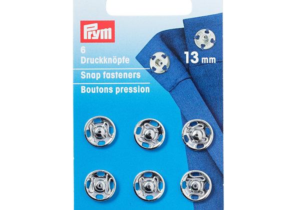 Σούστες Prym Ασημί  13mm
