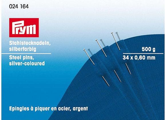 Καρφίτσες 0,60 χ 34 mm/500γρ.