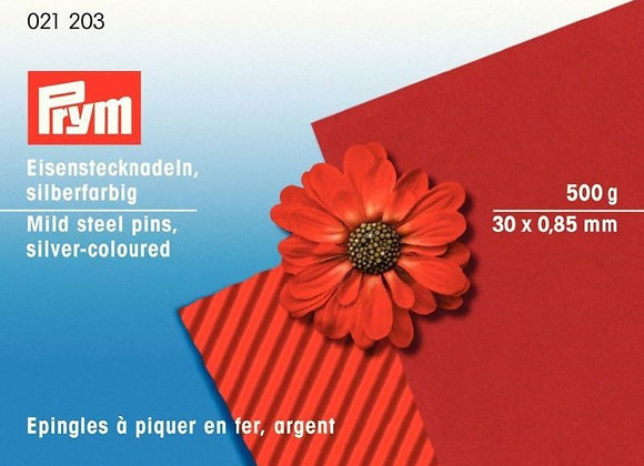 Καρφίτσες Prym 0,85 χ 30 mm/500γρ.