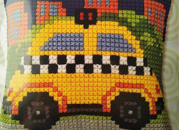 Τυπωτός Καμβάς Κεντήματος Ταξί