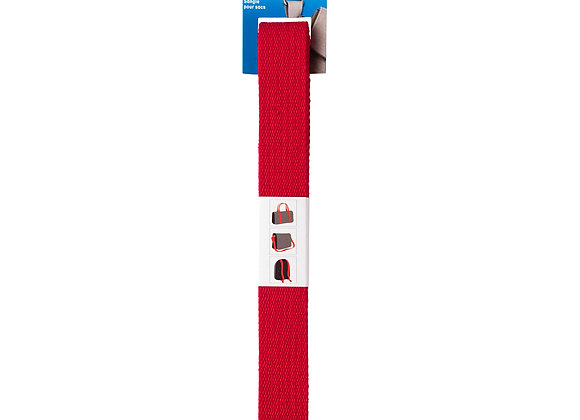 Ιμάντας Βαμβακερός 30mm Κόκκινος