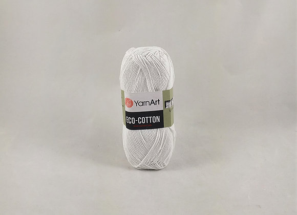 YarnArt ECO-COTTON Λευκό/Εκρού/Μαύρο