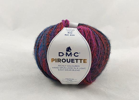 DMC Pirouette Μώβ/Μπλέ/Κόκκινο