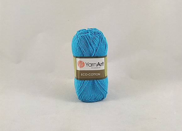 YarnArt ECO-COTTON Αποχρώσεις Γαλάζιου