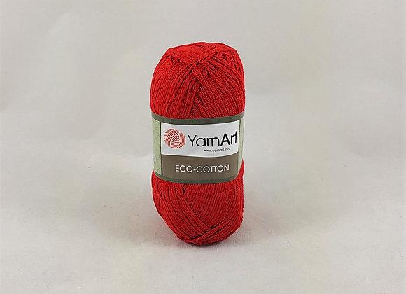 YarnArt ECO-COTTON Κόκκινο