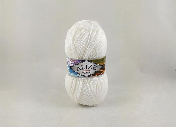Alize Burcum Klasik Λευκό/Εκρού/Μαύρο