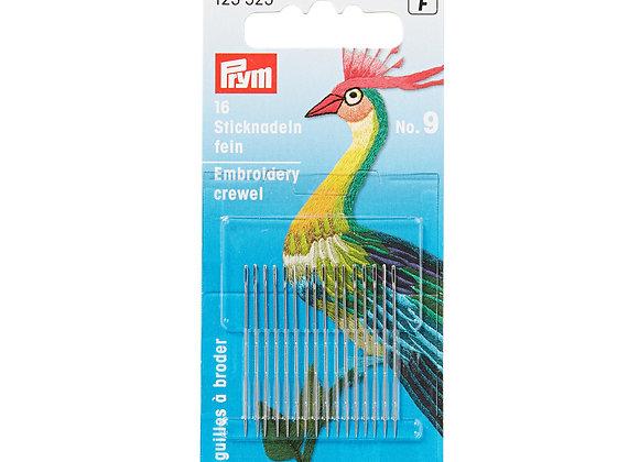 Βελόνες ραφής Νο.9  0,65 χ 35mm