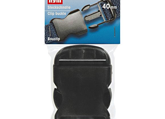 Κούμπωμα Ιμάντα Prym 40mm Μαύρο