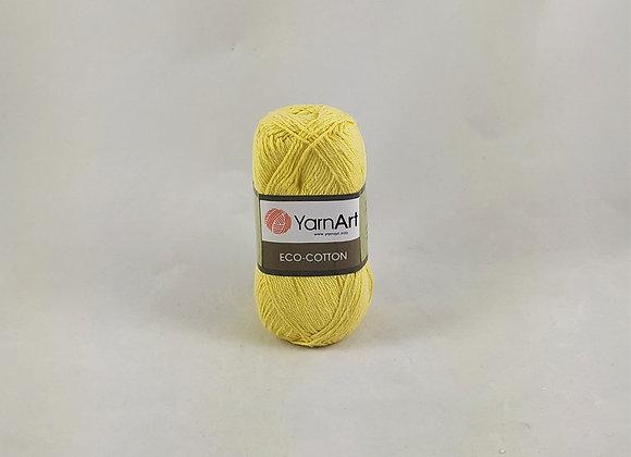 YarnArt ECO-COTTON Κίτρινο