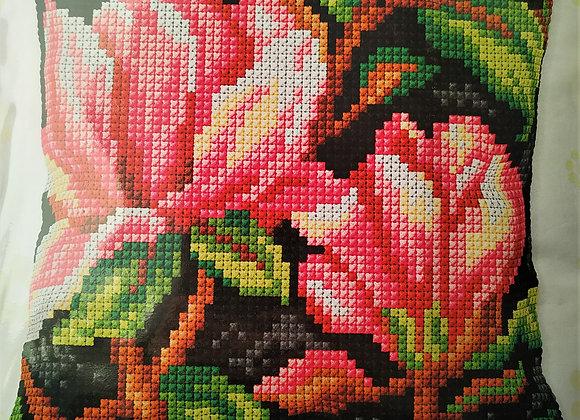 Τυπωτός Καμβάς Κεντήματος Λουλούδι