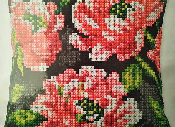 Τυπωτός Καμβάς Κεντήματος Λουλούδι 3