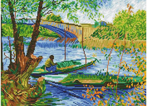 Fishing In Spring (Van Gogh)
