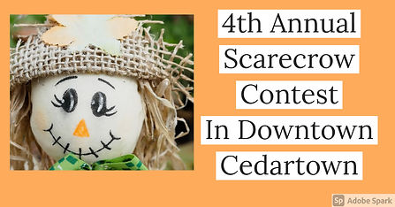 4th Annual Scarecrow Contest facebook.jp
