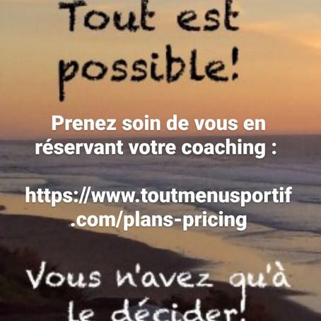 Notre coaching personnalisé