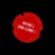 Bílý aČervený Kulatý Fitness Logo.png