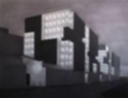 склады кесаря, колистратов, искусство в интерьер, архитектура, графика, москва
