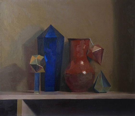 колистратов, современный художник, искусство в интерьер, п, купить, москва, живопись, натюрморт кристаллом