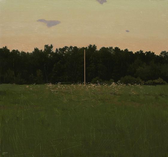 тихий столб, колистратов, современный художник, искусство в интерьер, пейзаж, купить, москва, живопись