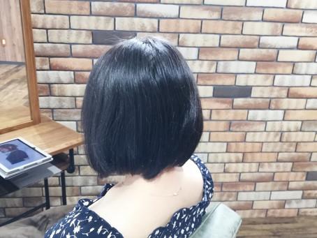 【髪型変えていく時にはメンテナンス♪】