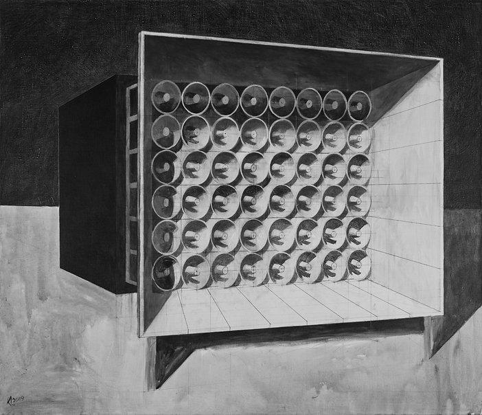 Для всех одна истина Дмитрий Колистратов художник выставка резиденция москва