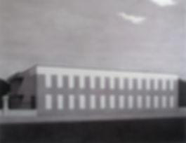 Новый дом посольства, графика, колистратов, искусство в интерьер, архитектура, москва, рисунок