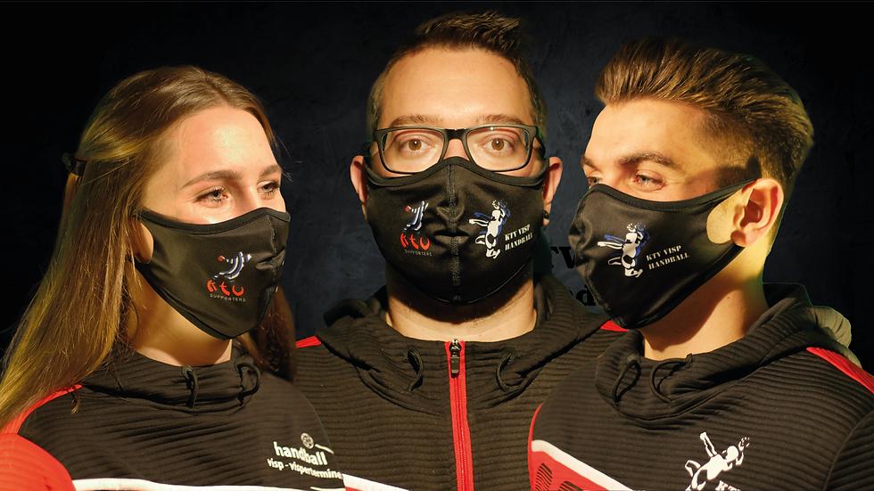 KTV Visp Schutzmaske
