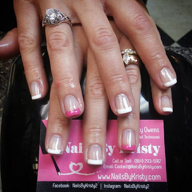 #premiumnails #gelmanicure #gelpolish #elitemani #frenchtip #frenchpolish #scheduleyourappointment #