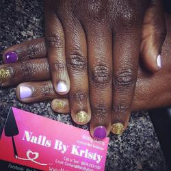 #latepost #gelpolish #nails #natural #naturalnails #tricolor #nailporn #nailswag #nailsbykristy2 #bo