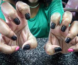 #gelmanicure #makethemgelish #getyours #gelish #angelindisguise  #gelpolish #nailsbykristy #greenvil